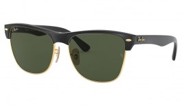 Ray-Ban RB4175 Clubmaster Oversized Sunglasses - Black / Green