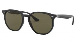 Ray-Ban RB4306 Sunglasses - Black / Green Polarised