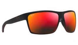 Maui Jim Alenuihaha Sunglasses - Burgundy Stripe / Hawaii Lava Polarised