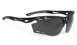Rudy Project Propulse Prescription Sunglasses - Clip-On Insert - Matte Black / Smoke