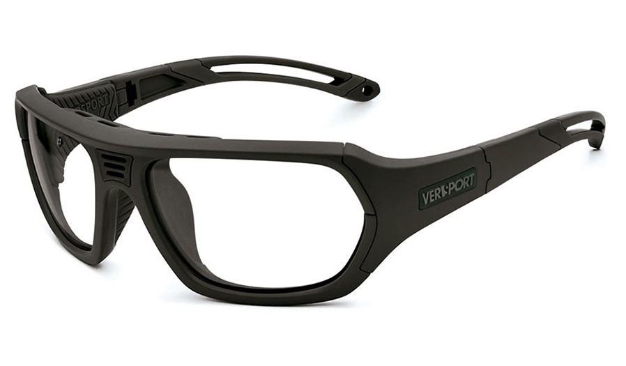 VerSport Troy Prescription Glasses - Matte Black