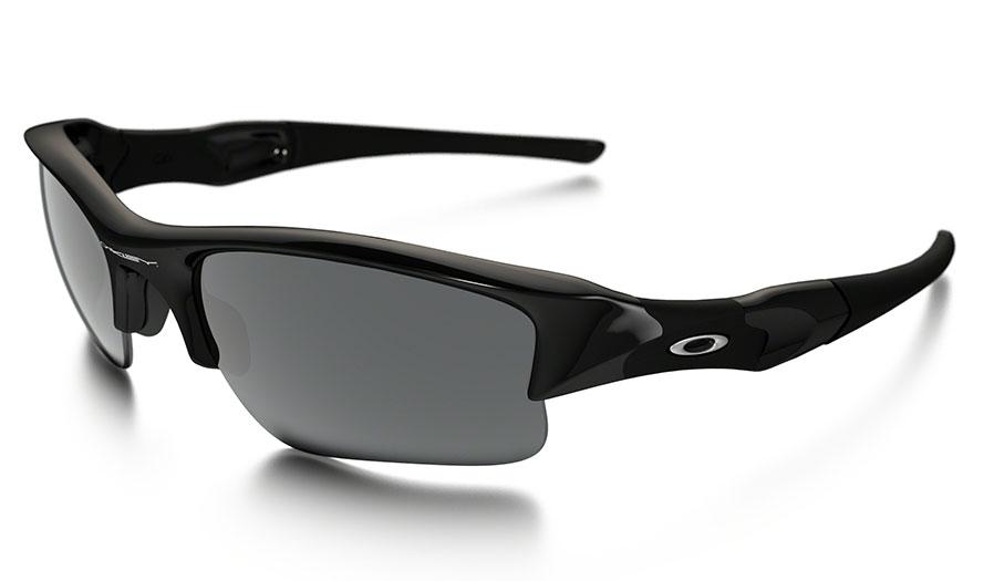 Flak Jacket Xlj >> Oakley Flak Jacket XLJ Sunglasses - Jet Black / Black Iridium