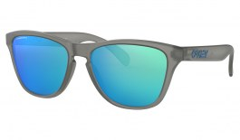 Oakley Frogskins XS Sunglasses - Matte Grey Ink / Prizm Sapphire