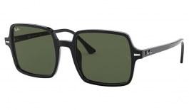 Ray-Ban RB1973 Square II Sunglasses - Black / Green
