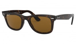 Ray-Ban RB2140 Original Wayfarer Sunglasses - Tortoise / Brown Polarised