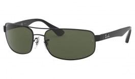 Ray-Ban RB3445 Sunglasses - Black / Green Polarised