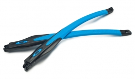 Oakley Crosslink / Crosslink Sweep Temple Kit - Satin Black & Blue