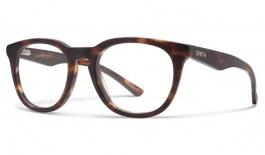 Smith Revelry Glasses - Matte Dark Tortoise - Essilor Lenses