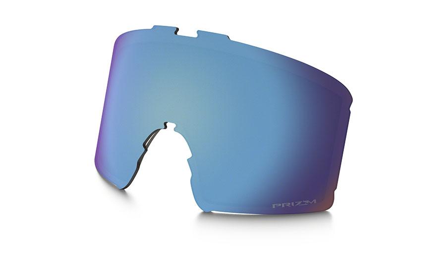 Oakley Line Miner XM Ski Goggles Replacement Lens Kit - Prizm Sapphire Iridium