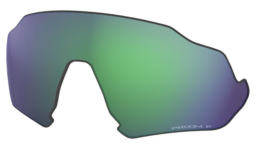 Oakley Flight Jacket Replacement Lens Kit - Prizm Jade Polarised