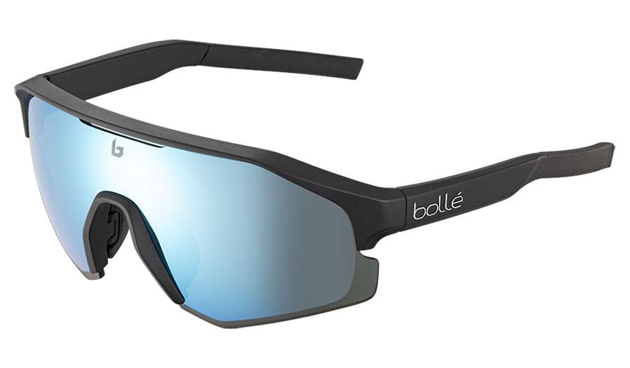 Bolle Lightshifter Prescription Sunglasses - Clip-On Insert - Matte Black / TNS Ice