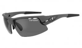 Tifosi Crit Sunglasses - Matte Gunmetal / Smoke Polarised Fototec