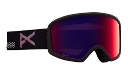 Anon Deringer MFI Ski Goggles - Waves / Perceive Sunny Red + Amber