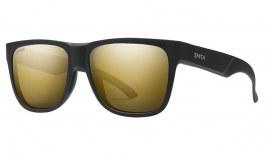 Smith Lowdown 2 Sunglasses - Matte Black Gold / ChromaPop Black Gold Polarised