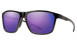 Smith Pinpoint Sunglasses - Black / ChromaPop Violet Mirror