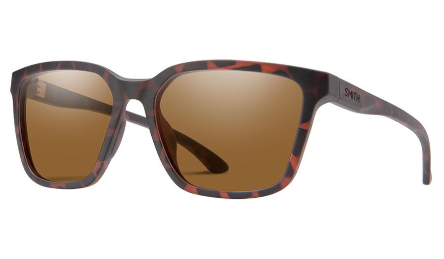 Smith Shoutout CORE Sunglasses - Matte Tortoise / Brown Polarised