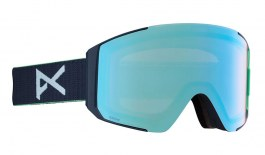 Anon Sync Ski Goggles - Navy / Perceive Variable Blue + Perceive Cloudy Pink