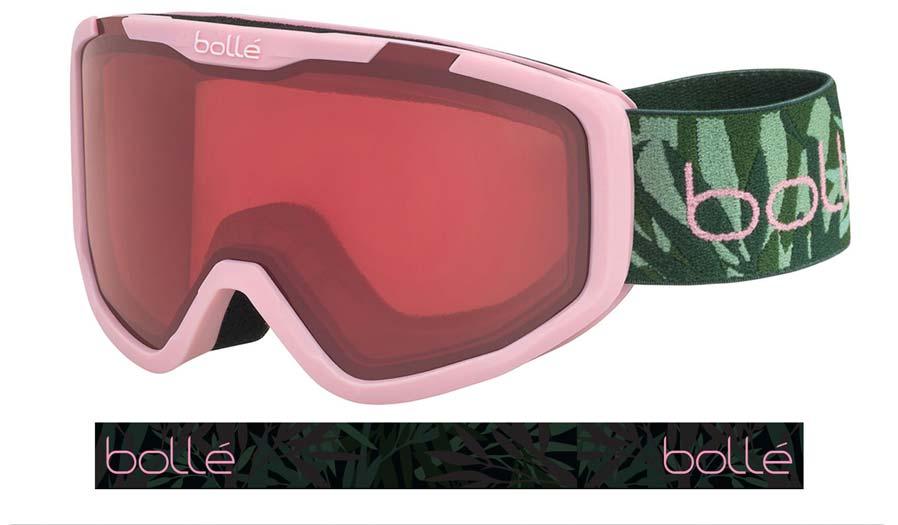 Bolle Rocket Ski Goggles - Matte Jungle Pink / Vermillon