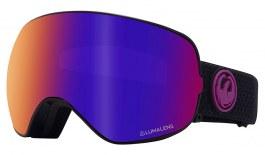 Dragon X2s Ski Goggles - Split / Lumalens Purple Ion + Lumalens Amber
