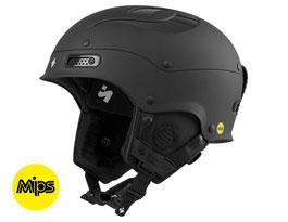 Sweet Trooper II MIPS Ski Helmet - Dirt Black