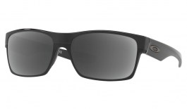 Oakley TwoFace Prescription Sunglasses - Polished Black (Gunmetal Icon)