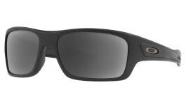 Oakley Turbine XS Prescription Sunglasses - Matte Black (Gunmetal Icon)