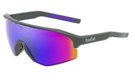 Bolle Lightshifter Sunglasses - Matte Titanium / Volt+ Ultraviolet Polarised