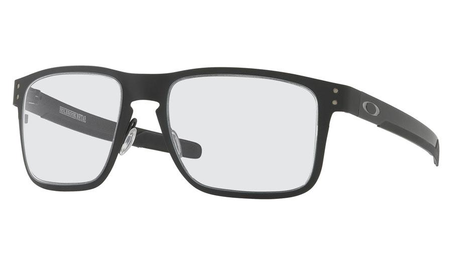 0c6b9ce245 Oakley Holbrook Metal Prescription Sunglasses. Colour  Matte Black (White  ...