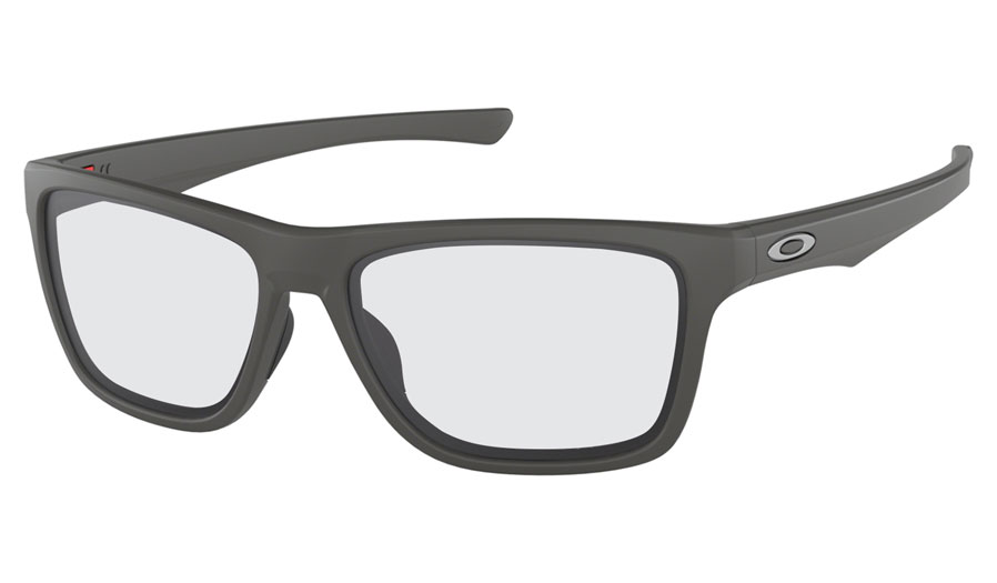 cddafca1e83 Oakley Holston Prescription Sunglasses - Matte Dark Grey - RxSport