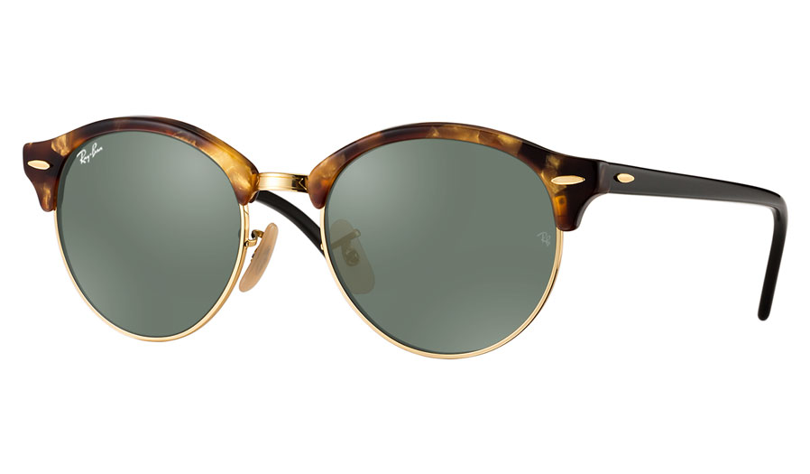 e3aa461182 Ray-Ban RB4246 Clubround Prescription Sunglasses - Light Tortoise - RxSport