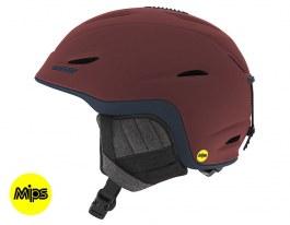 Giro Union MIPS Ski Helmet - Matte Maroon & Turbulence Mountain Division