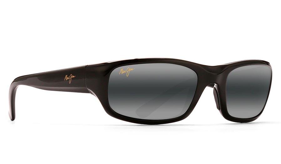 Maui Jim Stingray Prescription Sunglasses - Gloss Black