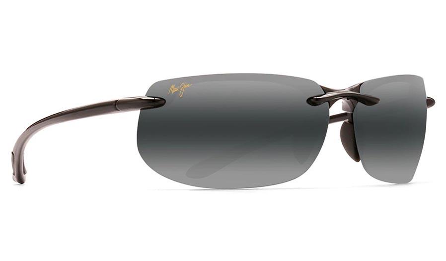 Maui Jim Banyans Prescription Sunglasses - Gloss Black