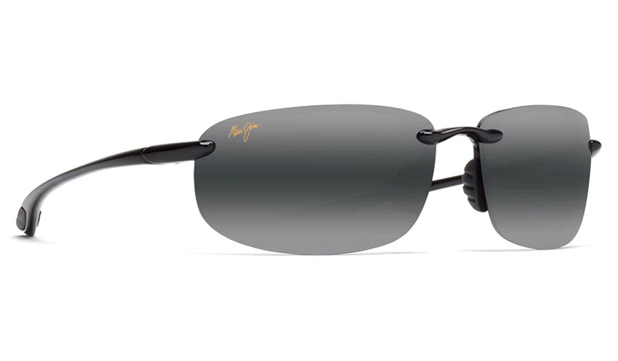 Maui Jim Ho'okipa Prescription Sunglasses - Gloss Black