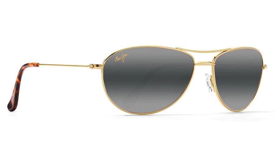 Maui Jim Baby Beach Prescription Sunglasses - Gold