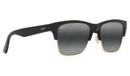 Maui Jim Perico Prescription Sunglasses - Gloss Black with Gold