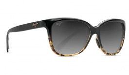 Maui Jim Starfish Sunglasses - Black with Tortoise / Neutral Grey Polarised