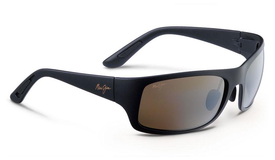Maui Jim Haleakala Sunglasses - Matte Black / HCL Bronze Polarised