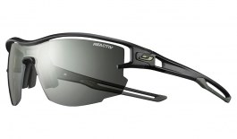 Julbo Aero Sunglasses - Translucent Black & Army / Reactiv Performance 0-3 Photochromic