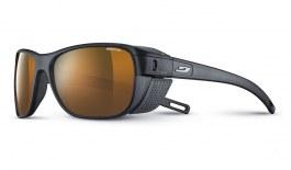 Julbo Camino Sunglasses - Matte Translucent Black / Reactiv High Mountain Polarised Photochromic