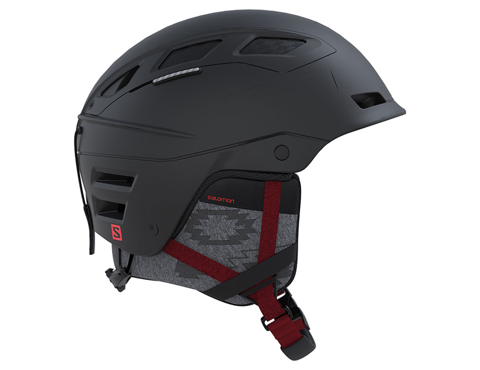 Salomon QST Charge W Ski Helmet - Black Coral