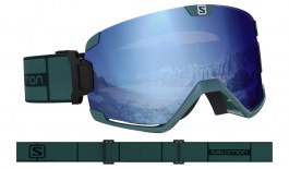 Salomon Cosmic Ski Goggles - Green Gable / Sigma Sky Blue