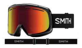 Smith Optics Range Prescription Ski Goggles - Black / Red Sol-X Mirror