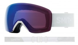 Smith Optics Skyline Ski Goggles - White Vapor / ChromaPop Photochromic Rose Flash