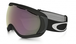 Oakley Canopy Ski Goggles - Matte Black / Prizm HI Pink Iridium