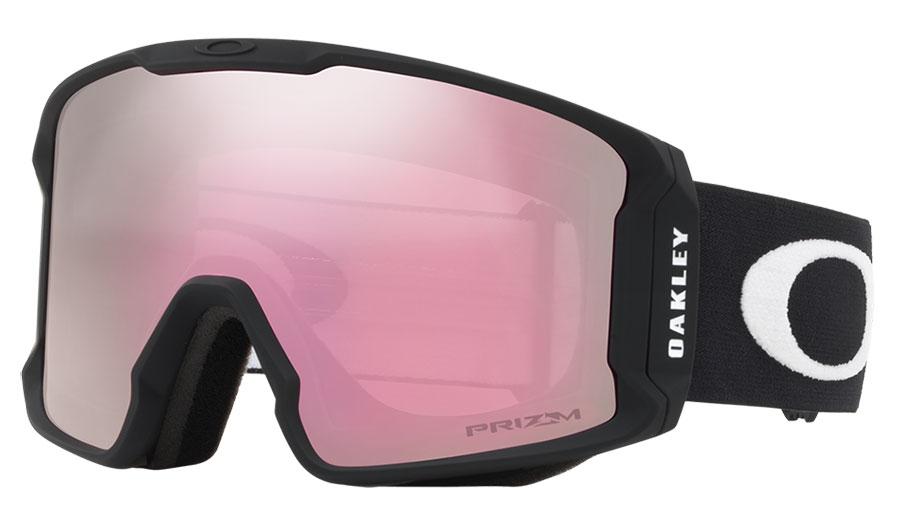 Oakley Line Miner XM Ski Goggles - Matte Black / Prizm HI Pink Iridium