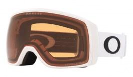 Oakley Flight Tracker XS Ski Goggles - Matte White / Prizm Persimmon