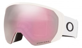 Oakley Flight Path XL Ski Goggles - Matte White / Prizm HI Pink Iridium