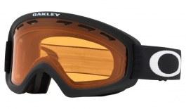 Oakley O Frame 2.0 Pro XS Ski Goggles - Matte Black / Persimmon + Dark Grey