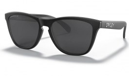 Oakley Frogskins Sunglasses - Matte Black / Prizm Black Polarised